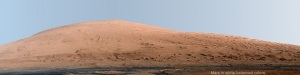 mount sharp---mars