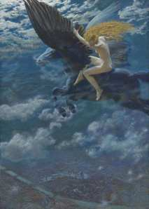 Edward-Robert-Hughes-Dream-Idyll-Valkyrie-1902